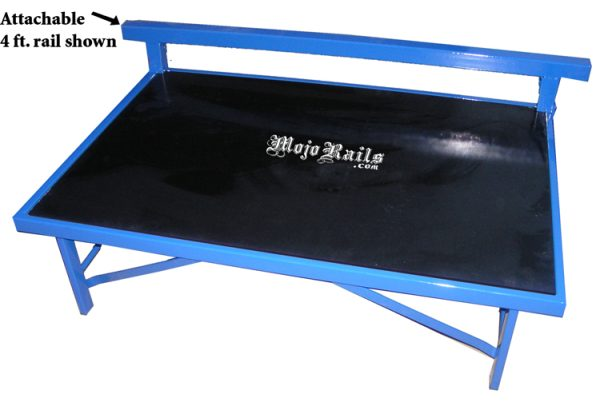 Street box, skate box, mojo rails, skate table